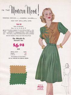 Resultado de imagen de 1940s fabric