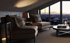 Cabin, Couch, Sweden, Interior, Spaces, Furniture, Home Decor, Ideas, Patio