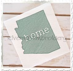 $2.95Sketch Style Arizona Home Machine Embroidery Design