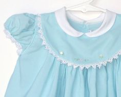 Vintage C.I.Castro and Co. Sky Blue Dress by StarrChildVintage, $20.00