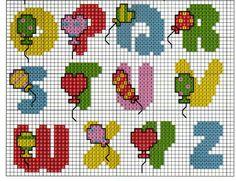 ABC balloon pattern