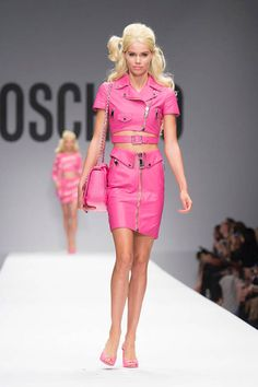 An entire runway inspired by Barbie—see Moschino Spring 2015 here.