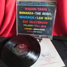 "Vintage LP ""Western TV Themes Instrumentals "" by trackerjax on Etsy"