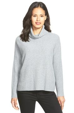 Eileen Fisher Boxy Cashmere Turtleneck Sweater available at #Nordstrom