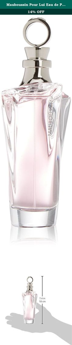 Mauboussin Pour Lui Eau de Parfum Spray for Men, 3.3 Ounce. Launched by the design house of mauboussin in the year 2012. This fruity scent has a blend of black currant, tangerine, bergamot, orange, apples, pears, caramel, magnolia, jasmine, rose, raspberry, amber, musk, vanilla, cedar, and sandalwood.