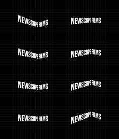 Logo and Branding: Newscope Films | BP Logo, Branding, Packaging & Opinion by Richard Baird