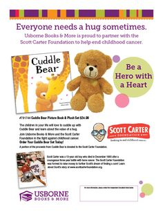 Usborne Books & More USA - Cuddle Bear