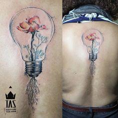 Lightbulb & Poppy