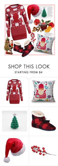 """""""Rosegal:11.11  Shopping Festival Contest"""" by natalyapril1976 on Polyvore featuring Sperry and National Tree Company"""