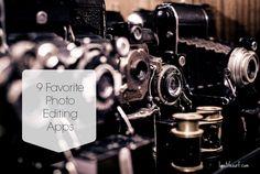 Favorite Photo Editting Apps