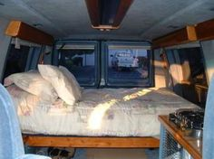 Cheap RV Living.com-How to Live in a Conversion Van