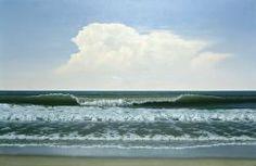 Morning Breaker, Seascape by Jack Saylor.