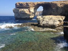 Natural Bridge on Gozo