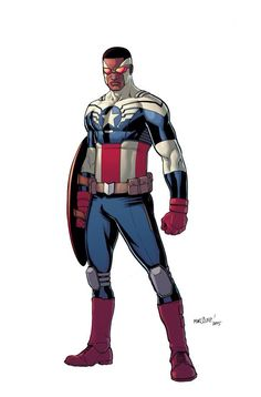 """""""All-New, All-Different Marvel"""" Captain America."""