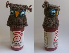 innocent - little tasty drinks Smoothie Company, Innocent Drinks, Innocence Project, Big Knits, Hat Crafts, Bobble Hats, Owl Hat, Knitting Videos, Crochet Accessories