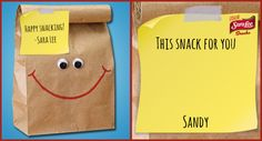 Snack time just got a whole lot happier! Check out the Sara Lee® Happy Snacking™ Challenge on Dailybreak and send someone a smile with a Happy Snacking™ note.