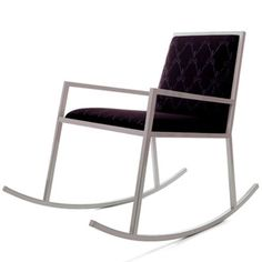 Scissor rocking chair, a modern interpretation by Kiki Van Eijk