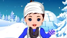 Baby Srna Winter Dressup - Girl Game Movie Gameplay