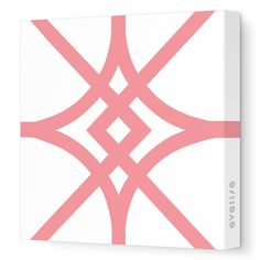 Coral Diamond - Pattern Collection - Avalisa.com #wallart #art #canvas #design