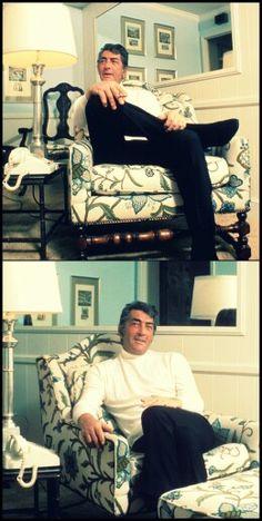 Dean Martin at home