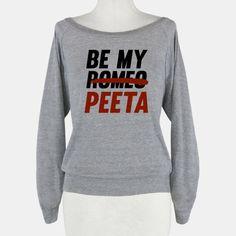 Be My Peeta Sweater