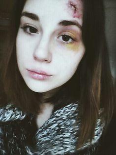 Halloween makeup, scary