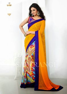 Saptrangi Season-2 Digital Signature Saree Collections         We are the leading organization actively engaged in offering an extensive array of  Saptrangi Season-2 Digital Signature Saree for our fashion conscious clients. Designer Sarees are now used for various occasions like festivals, parties, weddings and even as casual wear. These sarees are uniquely designed keeping in mind the preferred selections of valuable clients.