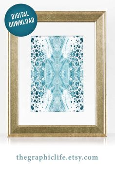Colorful Fluid Painting Abstract Printable Art, Abstract Art Fluid Art Print, Teal Abstract Wall Art Poster Design, Multiple Sizes Available Types Of Painting, Body Painting, Printing Services, Online Printing, Printable Art, Printables, Aboriginal Art, Abstract Wall Art, Instant Access
