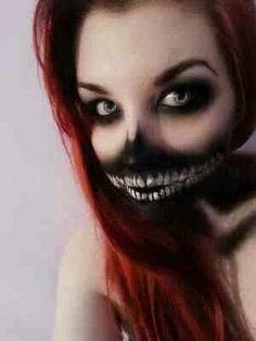 Crazy makeup #halloween | http://eyemakeup761.blogspot.com
