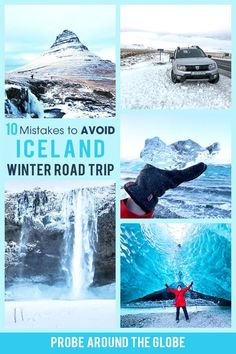 Read these 10 mistakes to avoid driving Iceland in winter to make sure you'll have a fun and safe Iceland winter road trip. #iceland #roadtrip #winterdriving #icelandwinter