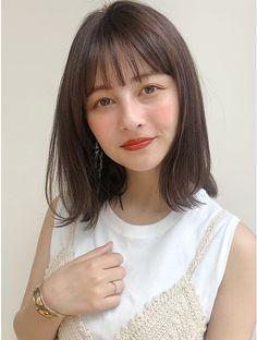 Medium Hair Styles, Short Hair Styles, Japanese Hairstyle, Anime Hair, Sexy Older Women, About Hair, Short Hair Cuts, Girl Hairstyles, Bangs
