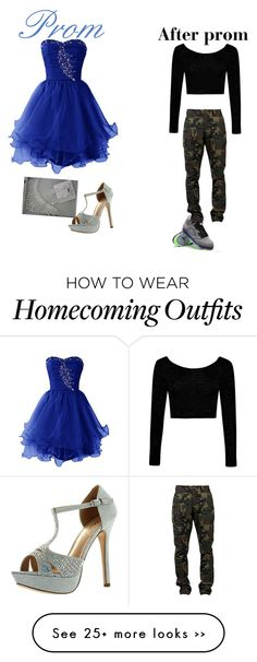 """Prom"" by im-a-fashion-killa on Polyvore featuring SSUR, Boohoo and De Blossom"