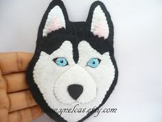 Felt dog ornament - husky siberian dog ornament - black dog ornament This ornament is an handmade creation. If you love dogs, If you love animals, this lovely dog ornament is for you. This doggie belogs to the race siberian husky. He is so sweet and you can adding a touch lovely to any corner of your home. He just wants to take care of you! and would make a great gift for dogs lovers. Do you want adopt this little dog? ► click the green Add to Cart button So many special uses for this…