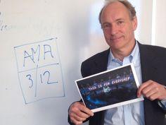 """La World Wide Web o """"www"""" cumple 25 años desde que Tim Berners-Lee la creara el 12 de marzo de 1989. """"El proyecto de la World Wide Web (www) pretende permitir que todos los enlaces se hagan a cualq..."""
