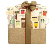 Wine Country Starbucks Spectacular Gift Baskets - http://mygourmetgifts.com/wine-country-starbucks-spectacular-gift-baskets/