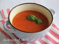 Paradajková polievka so zázvorom