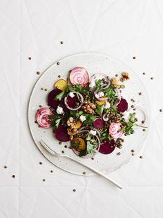 Spiced Lentil and Mixed Beetroot Salad — The Design Files | Australia's most popular design blog.