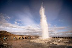 See Impressive Geysers in Haukadalur, Iceland