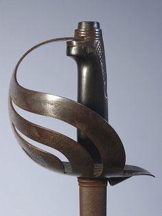 Italian Sword Hilt Bersaglieri