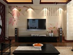Simple Wall Designs Modern Wall Designs For Home Decorations A Very  Beautiful Interior Wall Design For Your Home. Wohnzimmer ...