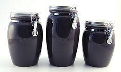 slate ceramic storage jars