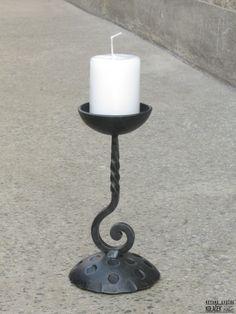 Svecnjak od kovanog gvozdja Kolacek 1897
