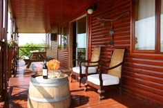 Apricot Farm, Bonnievale, Western Cape on Budget-Getaways Timber Cabin, Green Lawn, Travel Ideas, South Africa, Cape, Budget, Patio, Vacation, Outdoor Decor