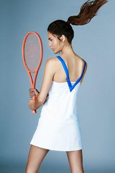 IVINCIA SUMMER 2016 Wimbledon Blue Tennis Dress @ivincia