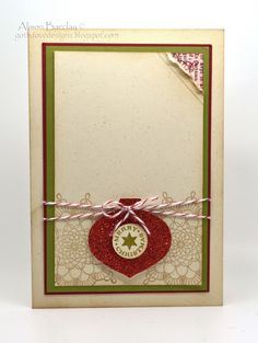 Gothdove Designs - Festive Friday Challenge #17 - Delicate Doilies Christmas Card