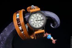 """Купить Часы """"Бохо шик"""" - рыжий, часы женские, часы наручные, часы бохо, бохошик"""