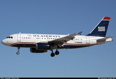 N829AW US Airways Airbus A319-100
