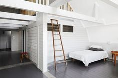 Gray wooden floor