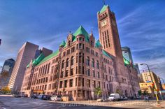 Minneapolis city hall [loved when it was the Courthouse and passing the statue of Neptune on the way to a hearing...]