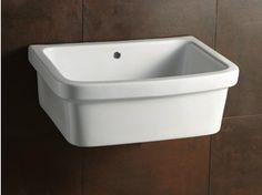 Vasca lavatoio in ceramica 45x50 Ticino | Bagno | Pinterest | Verandas